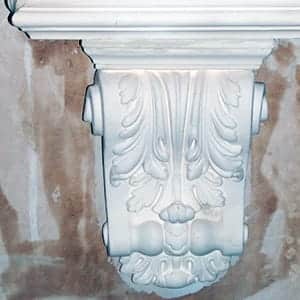 ornate covings and cornices